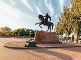 Памятник основателю города князю Михаилу Воронцову